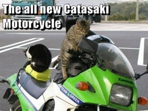 The all new Catasaki Motorcycle