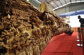 This Incredible Sculpture Was Carved From a Single Tree Trunk