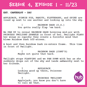 First Page of Season 4 Episode 1