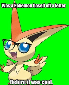 Hipster Victini