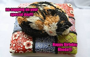 Lots of kayk n naps fur ur birfdai!