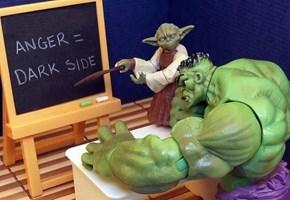 Hulk Reaching Enlightment