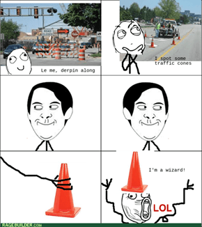 The Rare Roadwork Wizard