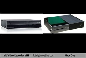 old Video Recorder VHS Totally Looks Like Xbox One