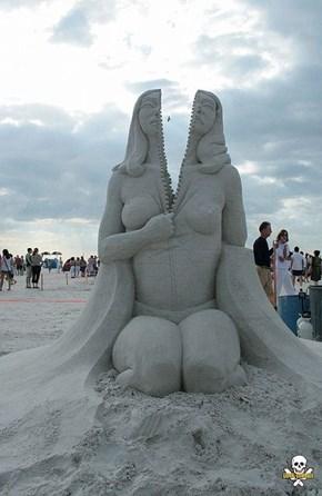 The Amazing Sand Sculpture of Carl Jara
