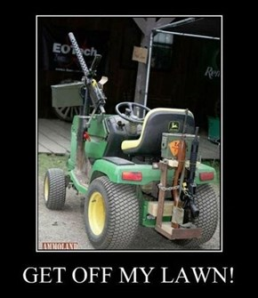 The Lawnmower of the Apocalypse