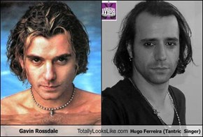 Gavin Rossdale Totally Looks Like Hugo Ferreira (Tantric  Singer)