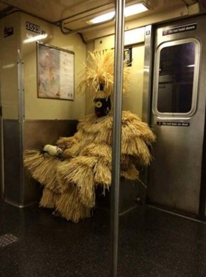 Just Another Day on The Subway