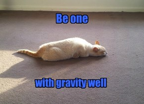 Be one ... with gravity well