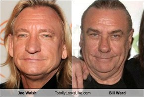 Joe Walsh Totally Looks Like Bill Ward