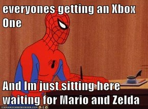 everyones getting an Xbox One  And Im just sitting here waiting for Mario and Zelda