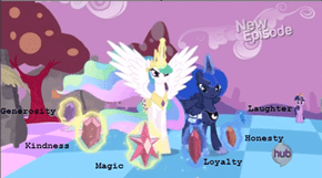Celestia and Luna's Elements revealed