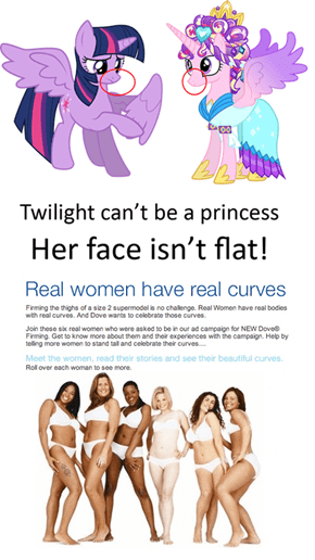 Real Ponies Have Real Curves