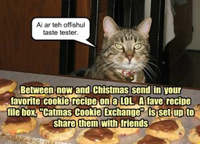 KKPS Catfurteria hosts a Catmas Cookie Exchange!