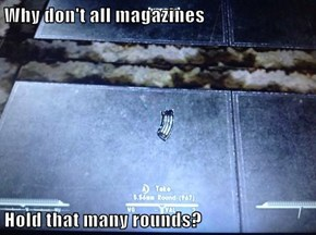 Why don't all magazines   Hold that many rounds?