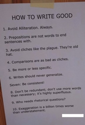 Do a Well Job of Writing With These Easy Tips