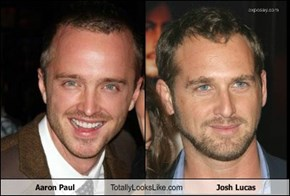Aaron Paul Totally Looks Like Josh Lucas