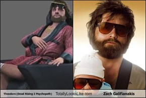 Theodore (Dead Rising 3 Psychopath) Totally Looks Like Zach Galifianakis