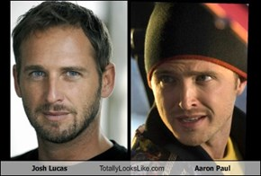 Josh Lucas Totally Looks Like Aaron Paul
