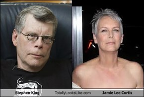Stephen King Totally Looks Like Jamie Lee Curtis