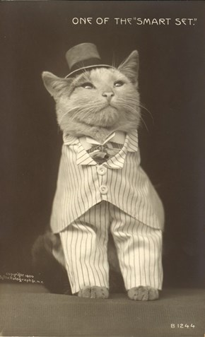 The original LOLcat from 1900