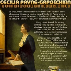 Cecilia Payne Was Awesome