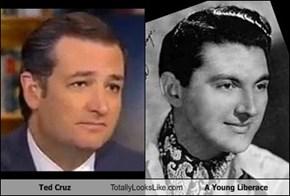 Ted Cruz Totally Looks Like A Young Liberace