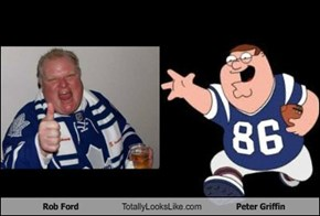 Rob Ford Totally Looks Like Peter Griffin