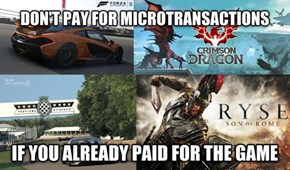 Don't Pay for Microtransactions