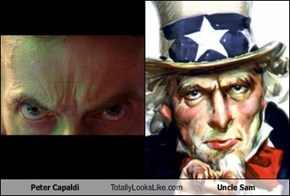 Peter Capaldi Totally Looks Like Uncle Sam