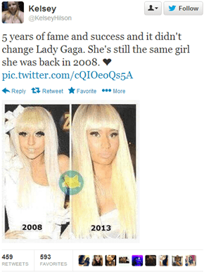 Lady Gaga Never Changes