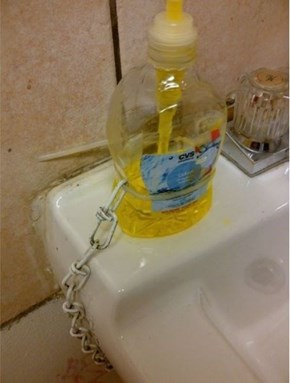 Tired of Replacing the Soap Dispenser?