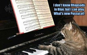 I don't know Rhapsody in Blue, but I can play What's new Pussycat!