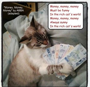 """Money, Money, Money"" by ABBA (adapted)"