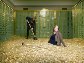 In Switzerland You Can Buy an Old Bank Vault, Complete With Coins, and Fulfill Your Scrooge McDuck Dreams