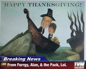 Breaking News - From Furrgy, Alan, & the Pack, LoL