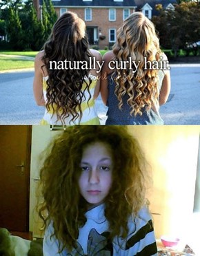 "Once it Rains, Then We'll See Who Truly Had ""Naturally"" Curly Hair"