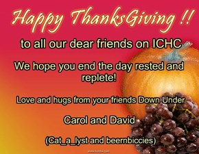 to all our dear friends on ICHC