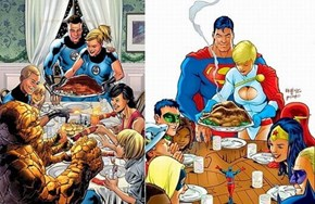 United In Copying Norman Rockwell