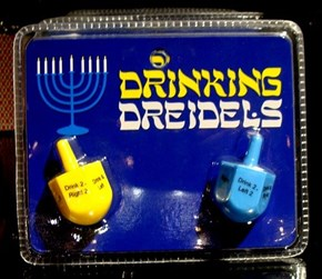 Hanukkrunk: Dreidels and Drinking Go Hand in Hand