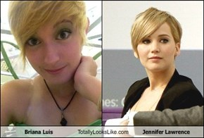 Briana Luis Totally Looks Like Jennifer Lawrence
