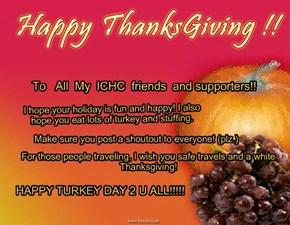Happy Turkey Day!!!!