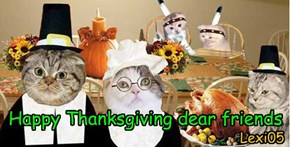 Happy Thanksgiving dear friends