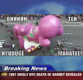 Breaking News - 1997 GRISLY NYC DEATH OF BARNEY REVEALED