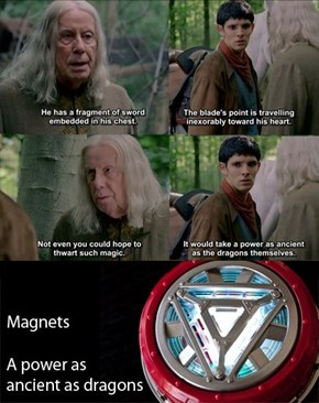 Magic Blades Aren't Magnetic!
