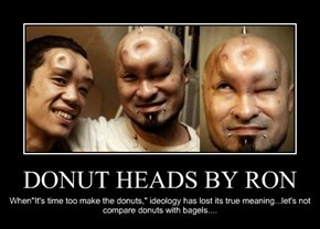 DONUT HEADS BY RON