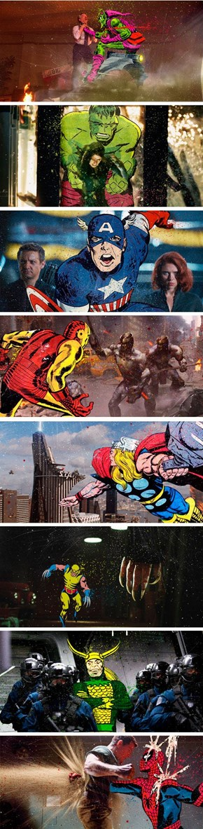 Marvel Comics In Marvel Movies