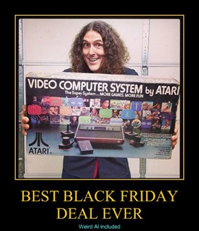 Weird Al Was for Sale?