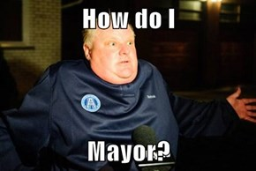 How do I  Mayor?