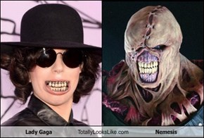 Lady Gaga Totally Looks Like Nemesis